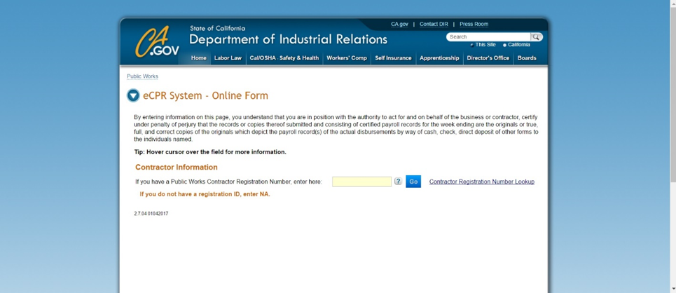 Ecpr Online Form Keninamas