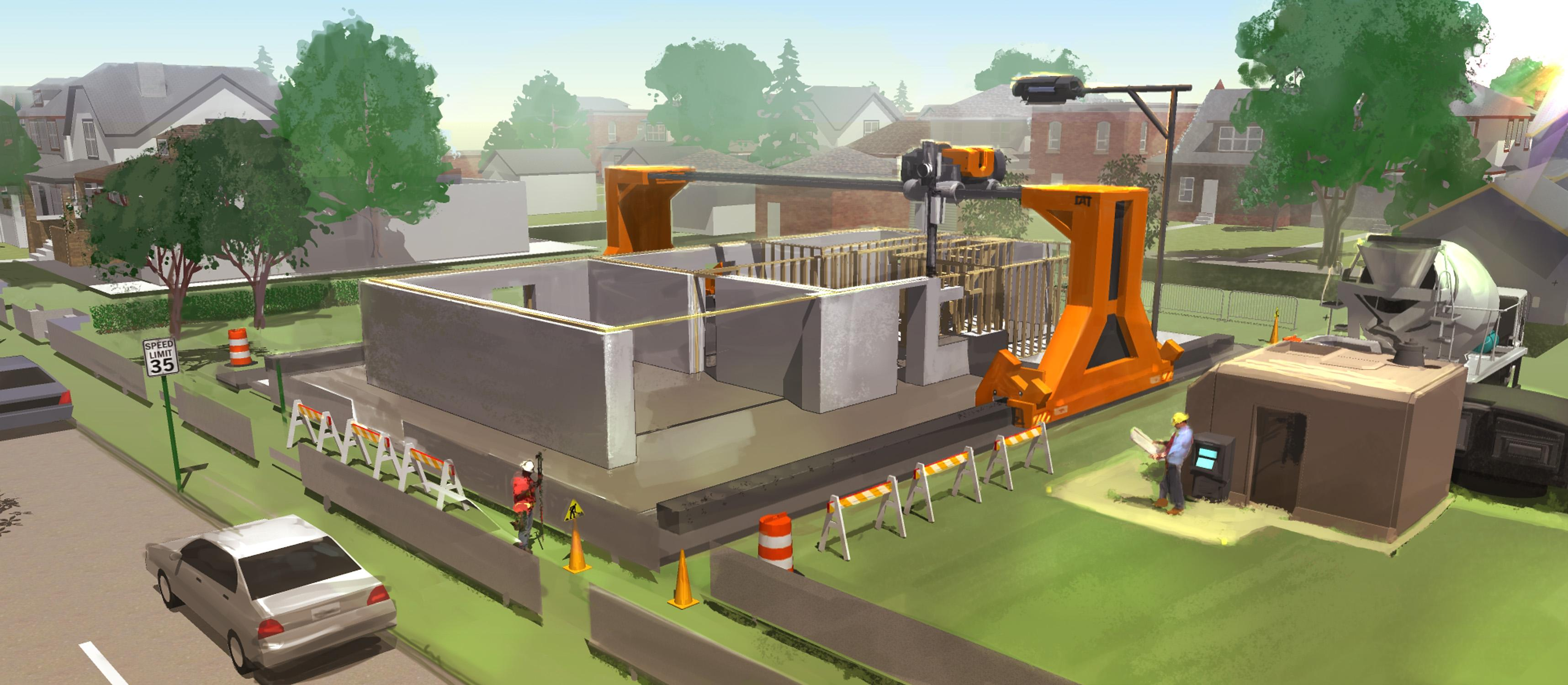 3d printing will revolutionize your construction company for Construction maison 3d nantes